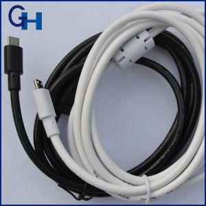Higi Reversible USB a Male to Micro Data Charge Cable pictures & photos