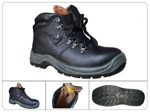 Fashion Style Printed Full Grain Leather Upper Insulative Safety Boots pictures & photos