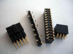1.27mm SMT Single Double 180d 90d Female Header pictures & photos