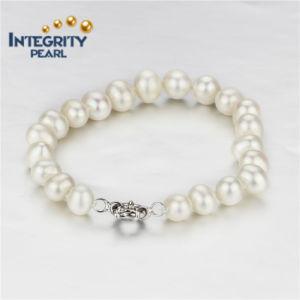 8mm AA Potato Natural Freshwater Pearl Bracelet