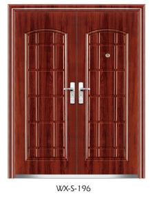 Steel Security Door (WX-S-196) pictures & photos
