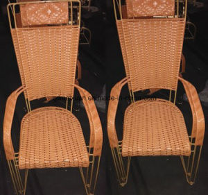 Pure Manual The Cane Chair Recreational Cane The New Fashion of Chair The Cane Makes up The Stool (M-X3390) pictures & photos