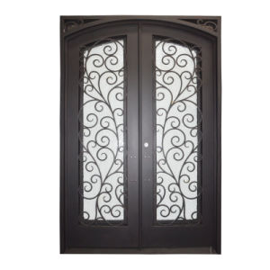 Custom Wrought Iron Door Grill Designs pictures & photos