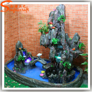 New Design Indoor Artificial Mini Rockery Fountains pictures & photos