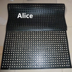 Anti-Bacteria Rubber Mat/Anti Slip Rubber Mat/Drainage Rubber Mat (GM0402A) pictures & photos