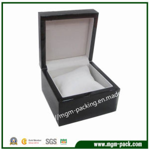 Wholesale Simple Wooden Watch Box with Cushion pictures & photos