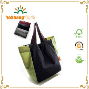 Reusable Large Capacity Nylon Foldable Shopping Bag for Supermaket pictures & photos