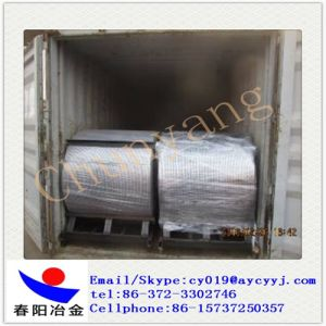 Ferrous Alloy Cafe Cored Wire Horizontal Axis pictures & photos