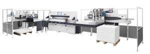 Full Automatic Intelligent Paper Cutter Production Line pictures & photos