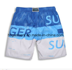 4 Way Fabric Board Shorts, The Letter Printing Beach Shorts for Man pictures & photos