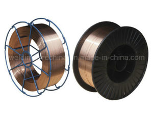 China Supply Mild Steel Copper Coated Welding Wire (Aws Er70s-6/DIN Sg2)