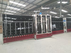 Vertical Glass Cleaning Machine with Drying Machine pictures & photos