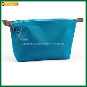 Promotional Lady Cosmetic Pouch Polyester Cosmetic Bag (TP-COB018) pictures & photos