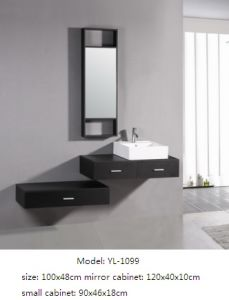 Bathroom Furniture MDF Vanity with Mirror