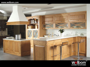2015 [ Welbom ] American Design Solid Wood Kitchen Cupboard pictures & photos