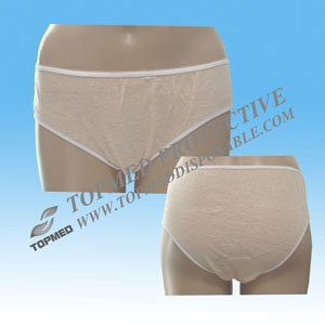 Disposable Pure Cotton Female Briefs for Travel and Hotel pictures & photos