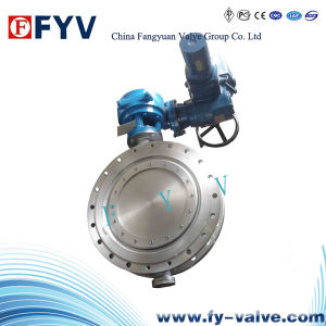 API Electric Metal Seat Triple Offset 20 Inch Butterfly Valve pictures & photos