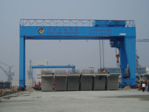 MG Double Girder Gantry Crane with Hook pictures & photos