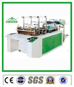 Heat Sealing and Cold Cutting Vest Bag Making Machine pictures & photos