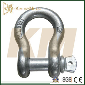 Us Type Drop Forged Shackle (Eg/ HDG) pictures & photos