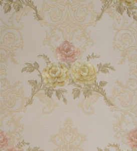 Modern Italy Design Deep Embossed Vinyl Wall Paper with Cheap Price pictures & photos