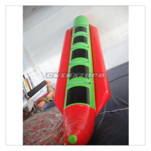 High Quality 5 Seats Aqua Boat Inflatable Banana Boat Wholesale Price pictures & photos