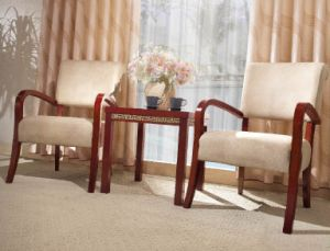 Hotel Furniture/Restaurant Furniture/Restaurant Chair/Hotel Chair/Solid Wood Frame Chair/Dining Chair (GLC-198) pictures & photos