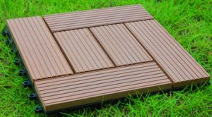 Backyard Home Decking Wood Composite Tile pictures & photos