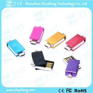 Super Mini Multicolor Metal Swivel 16GB OTG USB (ZYF1607) pictures & photos