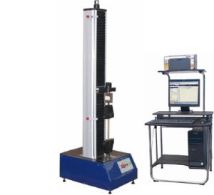 Electronic Universal Testing Machine TIME WDW-1 with big deformation extensometer pictures & photos