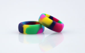 Hot Sale Popular Silicone Wedding Finger Ring Women Ring