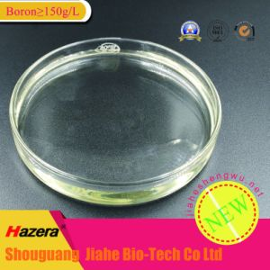 Boron≥ 150g/L Liquid Boron Fertilizer for Irrigation, Foliage Spray pictures & photos
