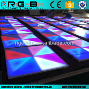 Rigeba 1X1m LED Dance Floor for Stage Wedding Party Light pictures & photos