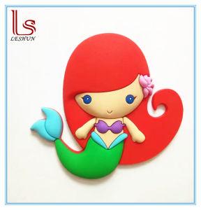 Amazon Hot Selling Custom Mermaid PVC 3D Fridge Magnet pictures & photos