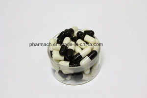 Black/White Empty Gel Capsules/ Hahal Empty Gel Capsules pictures & photos