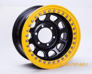 Offroad 4X4 Car Beadlock Steel Wheel Rim 16X7 pictures & photos