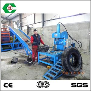 High Efficiency Rubber Tire Cutter pictures & photos