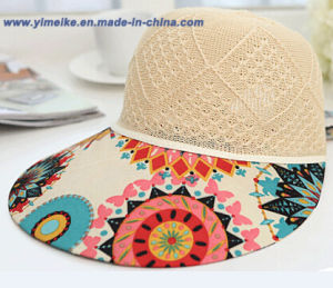 2015 New Visor Cap for Lady pictures & photos