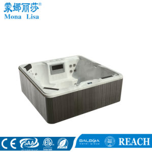 Us Acrylic Outdoor Whirlpool Massage SPA Tub for 4 Person (M-3311) pictures & photos