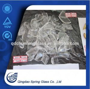 Super White Transparent Waste Bottle Glass Cullets pictures & photos