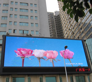 P10 Outdoor Full Color LED Video Wall with CE RoHS FCC Certification pictures & photos