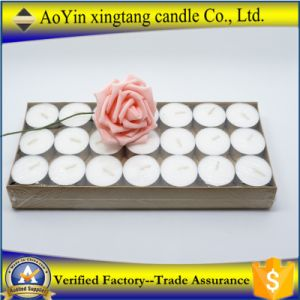 Wholesale 50PC in Polybag 16g White Tealight Candle with 6 Hours Burning Time pictures & photos