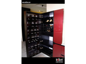 Red High Gloss Kitchen Cabinet From China pictures & photos