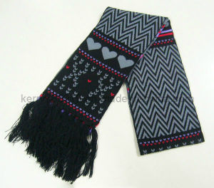 Fashional Men′s Cotton Warm Scarf/Knitted Scarf pictures & photos