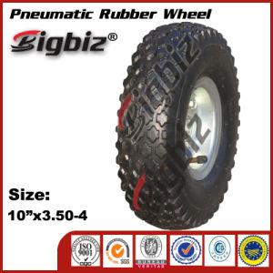 Pneumatic 13 Inch Rubber Wheel for Wheelbarrow pictures & photos