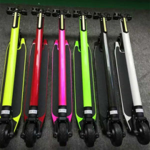 24V250W Carbon Fiber Electric Scooter LG 8.8ah E-Scooter pictures & photos
