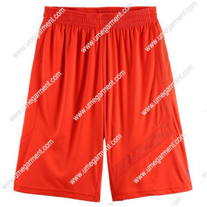 Mens/Lady Sweat Mesh Short Pants for Sports