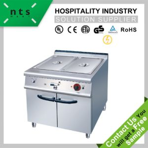 Electric Bain Marie with Cabinet for Hotel & Restaurant & Catering Kitchen Equipment pictures & photos