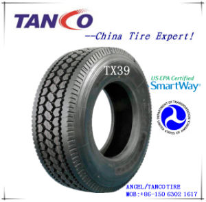 DOT/Smartway Truck Drive Tire (TIMAX 295/75R22.5 14/16PR) pictures & photos