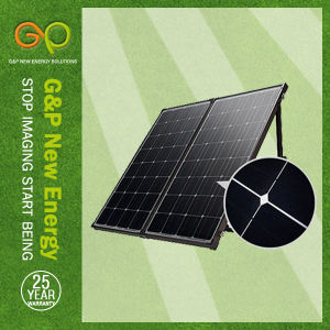160wp Folding Panel Monocrystalline, Portable Panel with MPPT or Pmw Controller pictures & photos